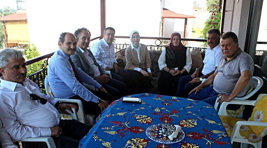 Yargıtay Başkanı Cirit'i AKP heyeti yazlığında ziyaret etti