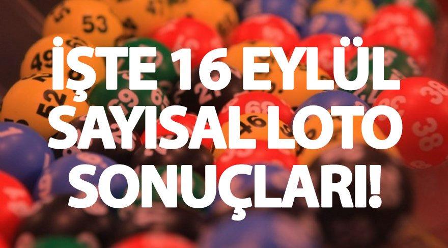 Sayısal Loto'da çılgın devir! (16 Eylül Sayısal Loto sonuçları) Sayısal Loto sorgulama ekranı