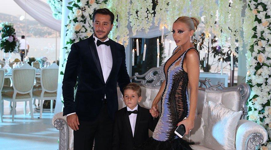 Gülşah Saraçoğlu'nun oğlu Aslan Yentur sünnet oldu