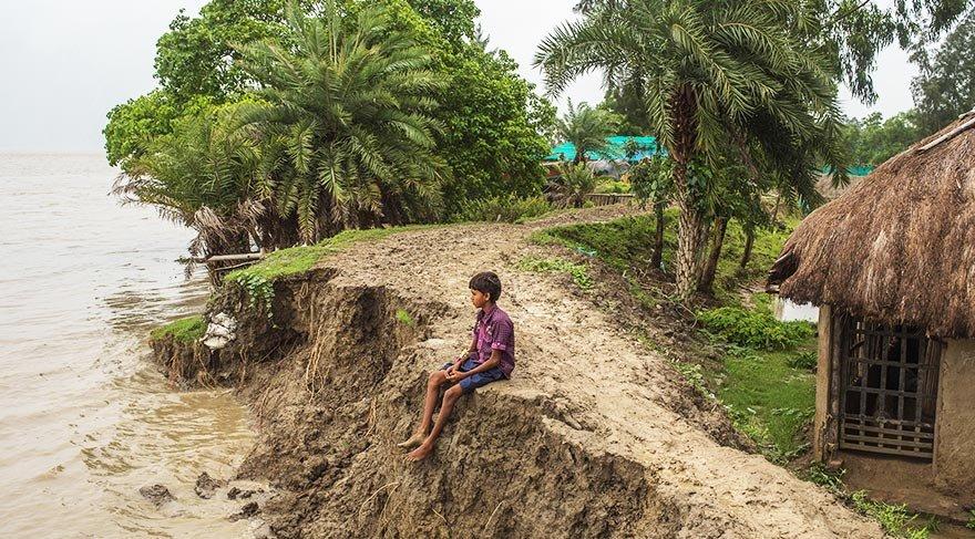 Küresel ısınma adanın yüzde 75'ini yuttu