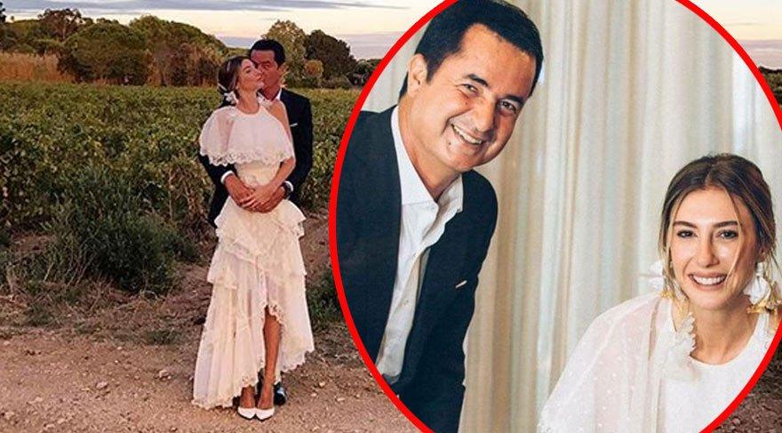 Şeyma Subaşı ve Acun Ilıcalı Marsilya'daki Türk konsolosluğunda evlendi