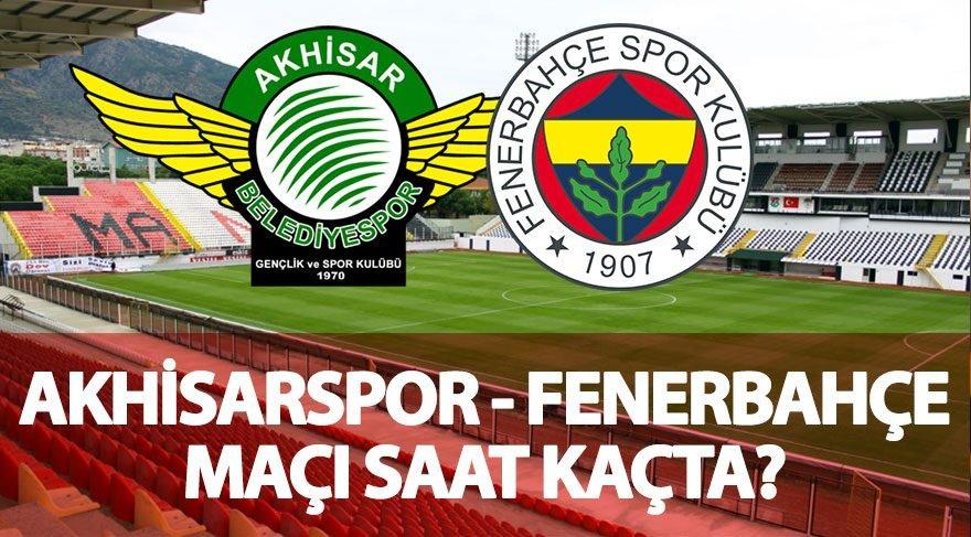 Defans dörtlüsü nasıl olacak? Akhisar Fenerbahçe maçı saat kaçta hangi kanalda? Akhisarspor FB maçı i,çin nefesler tutuldu!