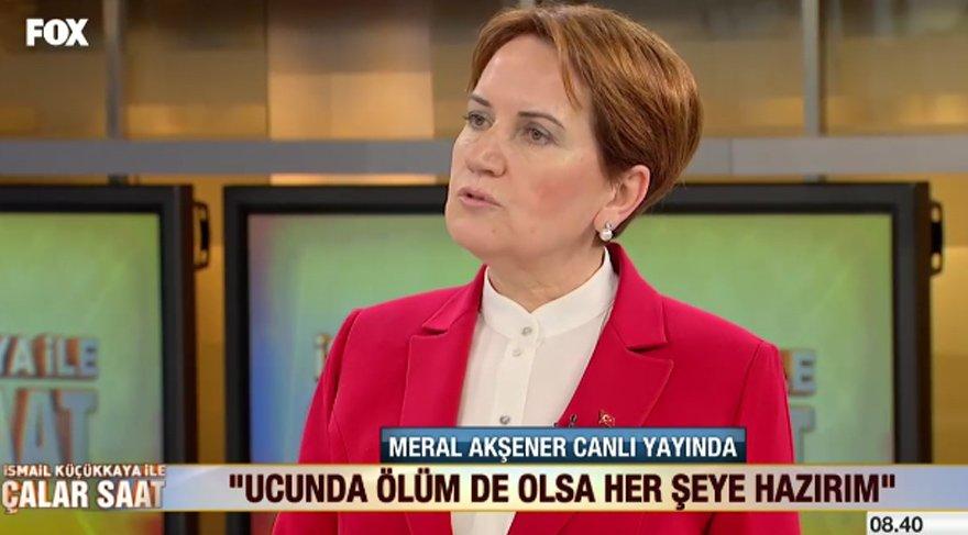 Meral Akşener beklenen açıklamayı yaptı