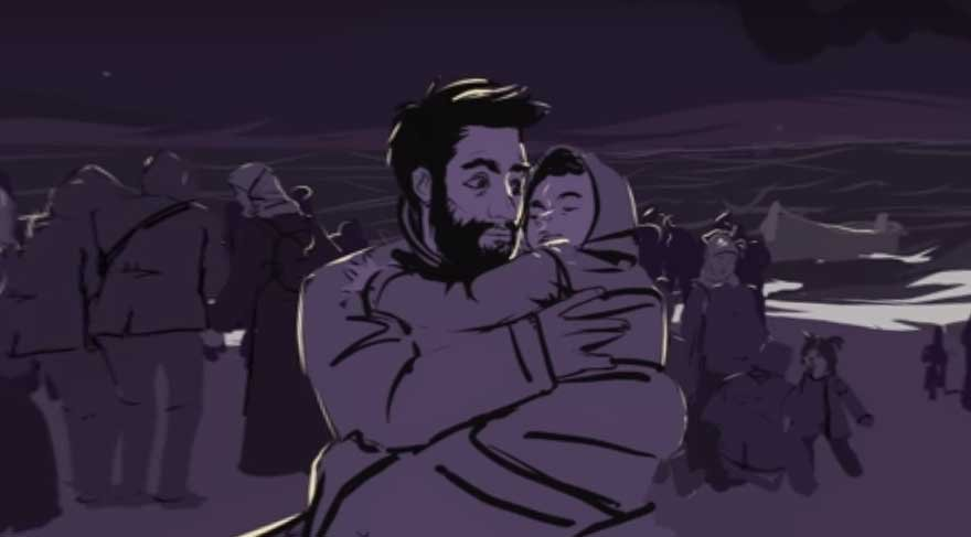 Alan Kurdi'nin hikayesi animasyon oldu