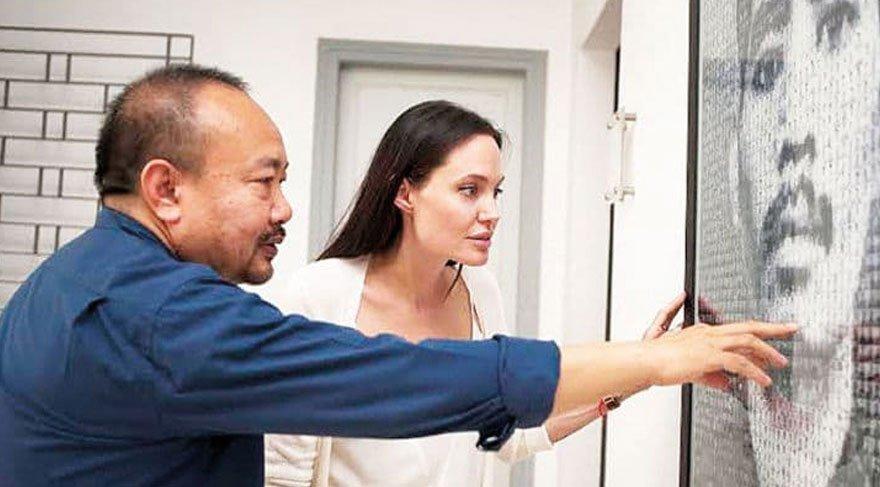 Angelina Jolie'nin Kamboçya'da çektiği film Oscar'a aday oldu!