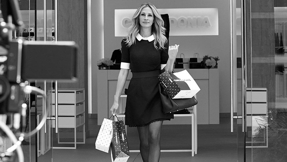 Julia Roberts'ın 2015'teki markanın reklam kampanyasından bir kare...