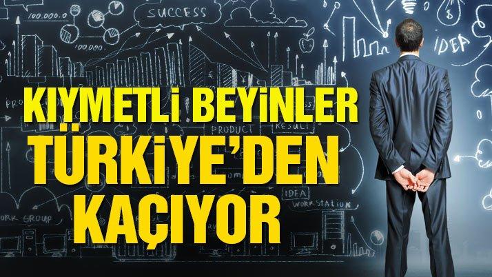 Kıymetli beyinler Türkiye'den kaçıyor