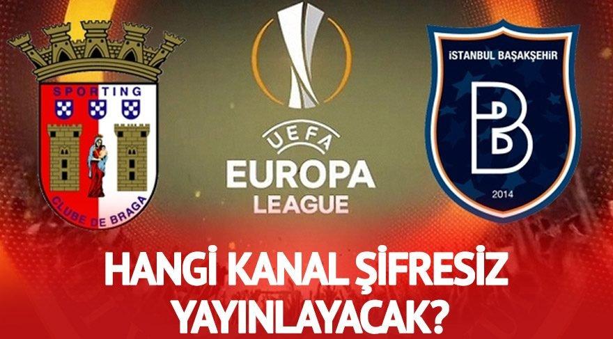 İDMAN TV ŞİFRESİZ CANLI İZLE: Braga Başakşehir maçı canlı izle! Başakşehir maçını şifresiz yayınlayacak kanallar listesi! (AZ TV, İDMAN TV)