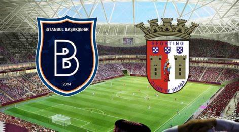 11'ler belli oldu! Braga Başakşehir maçı hangi kanalda saat kaçta? M. Başakşehir maçı UEFA Avrupa Ligi başlıyor...