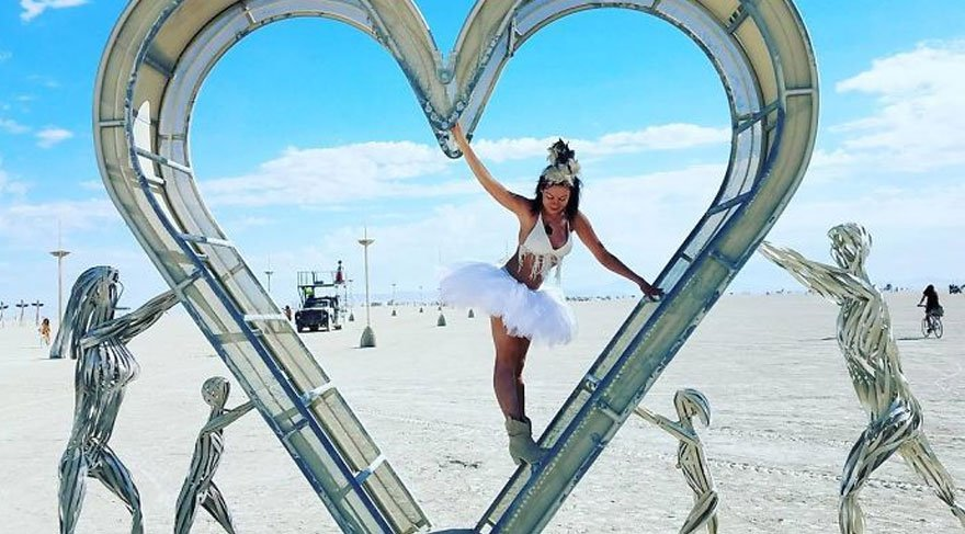 İşte dünyanın en çılgın festivali Burning Man'den inanılmaz kareler…