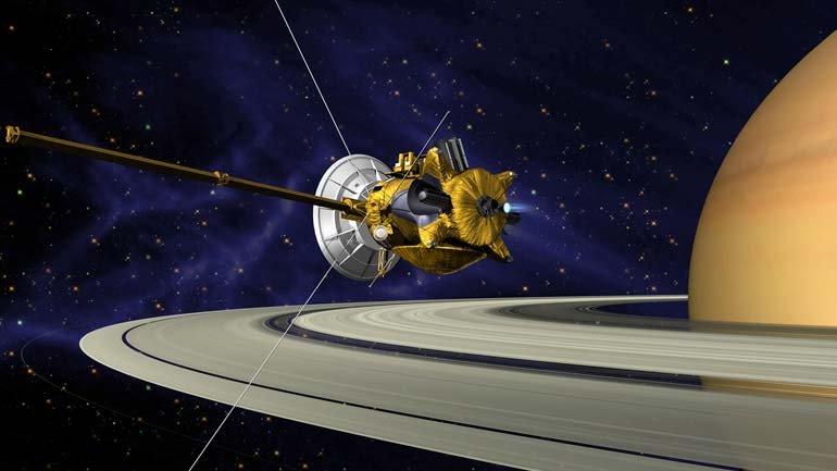 Uzayda büyük final: Cassini'ye veda