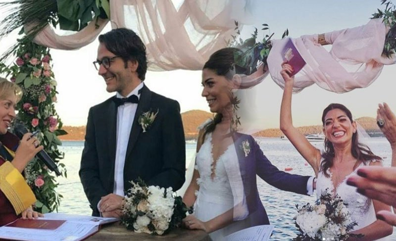 Oyuncu Ceren Moray ile Nicco evlendi