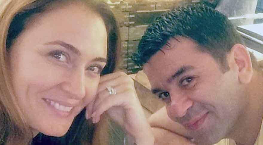 Ceyda Düvenci ve Bülent Şakrak çifti tatilde