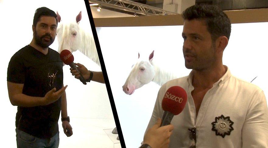 Türk sanatçıdan, müthiş buluş! Biyonik at görenleri hayrete düşürüyor