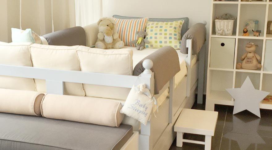 Şık ve konforlu bebek odaları