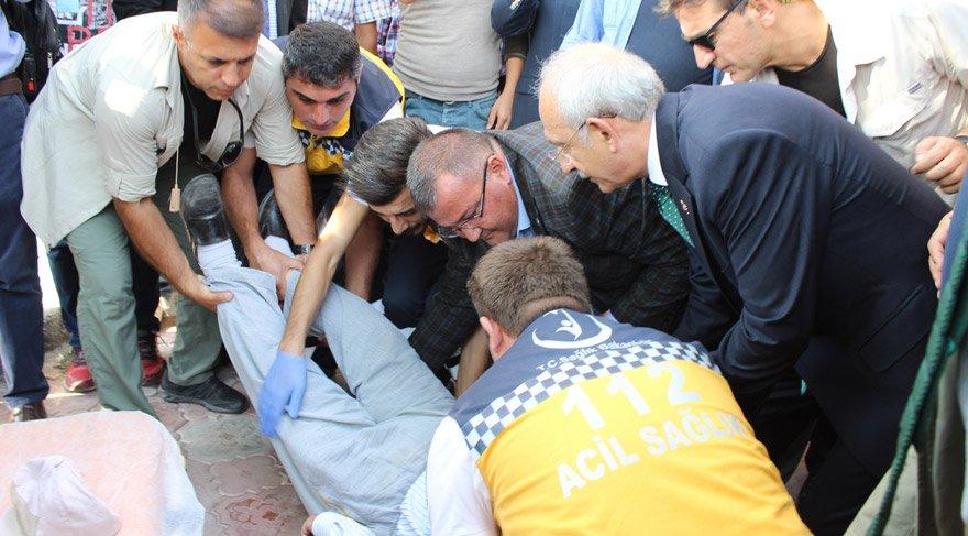 Kılıçdaroğlu'na bunu söyledi ve bayıldı | Son dakika haberleri