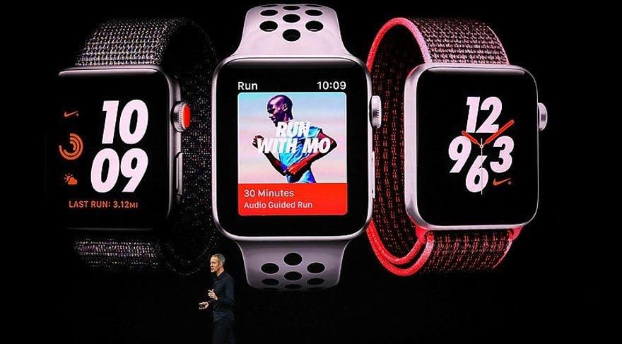 Son dakika haberi... Apple, 3. seri Apple Watch'ın tanıtımını yaptı!