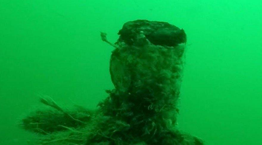 Batık denizaltı yüzyılın ardından açığa çıktı