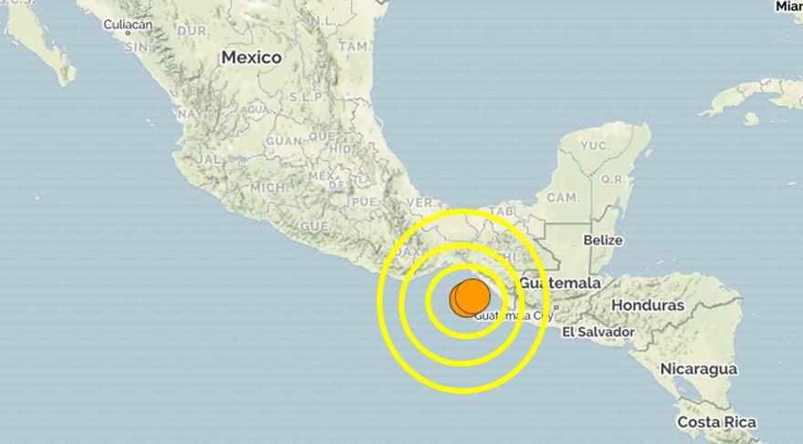 deprem-meksika-harita