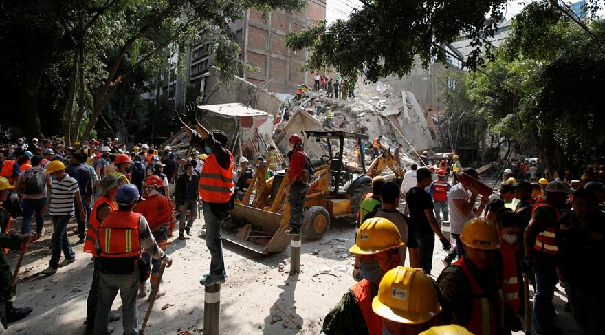 Son dakika... Meksika 32 yıl sonra felaketi tekrar yaşadı: En az 216 ölü
