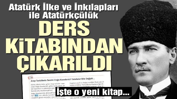 5. sınıf kitabından Atatürk bölümleri çıkarıldı 93