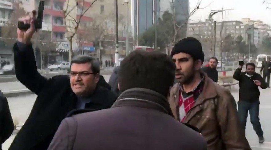 """HDP'li Aslan'a """"Devlet benim"""" diyerek silahını çeken komiserin FETÖ'den 15 yıl hapsi isteniyor"""