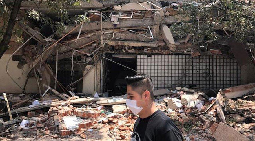 Son dakika haberi... Meksika'da 7.1 büyüklüğünde deprem