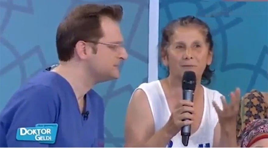 TRT Ekranlarında izleyiciden doktora ilginç soru