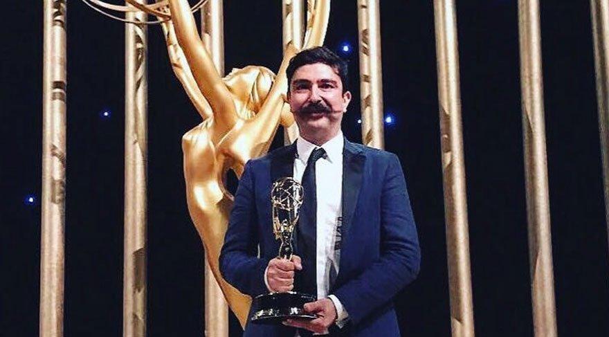 Emmy'de ödül alan tek Türk Ekin Akalın için sıraya girdiler