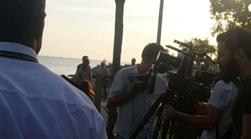 'Ev Kira Semt Bizim' filminin çekimlerine engelleme girişimi
