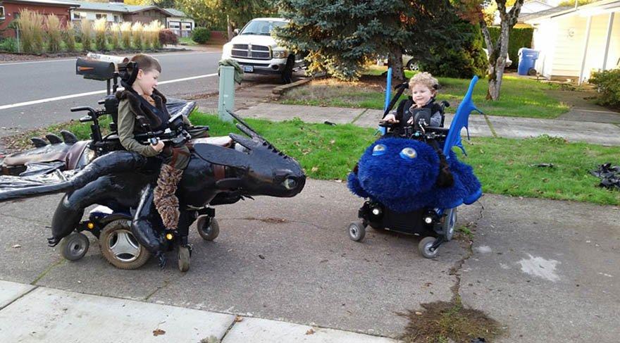 Engelli çocukların hayallerini gerçeğe çevirdi