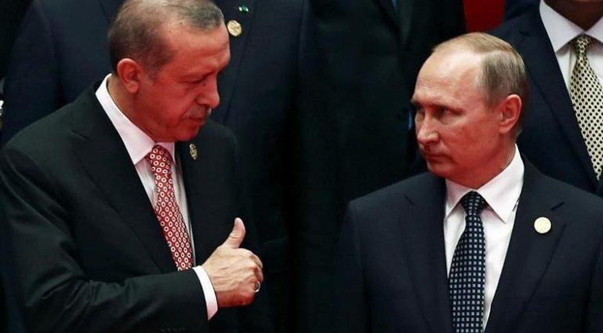 Erdoğan Putin'le Afrini görüştü