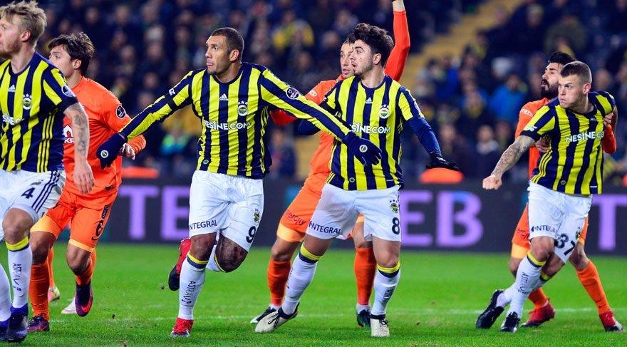 Fenerbahçe Başakşehir maç özeti ve golleri izle! FB Başakşehir maçı nefes kesti