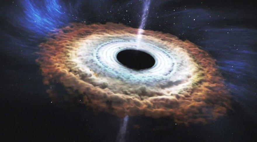 Güneş'in 100 bin katı büyüklüğünde! Samanyolu'ndaki en büyük 2. kara delik bulundu