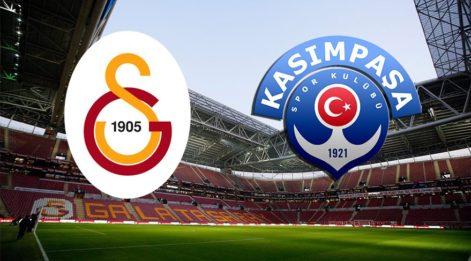 Galatasaray Kasımpaşa maçı canlı izle! (CANLI YAYIN) GS maçını yayınlayacak uydu kanalları listesi