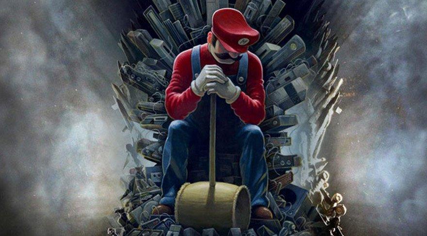 Fenomen dizinin jeneriğine 'Mario' düzenlemesi