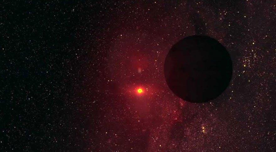 Dev siyah bir gezegen keşfedildi