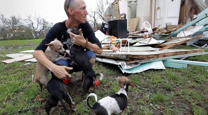 Harvey Kasırgası'ndan geriye kahramanlık anıları kaldı