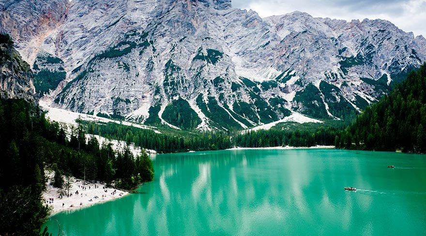 İtalya'nın doğal güzelliği: Lago di Braies