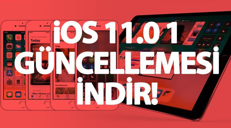 iOS 11.0.1 nasıl indirilir? İşte iOS 11.0.1 özellikleri…