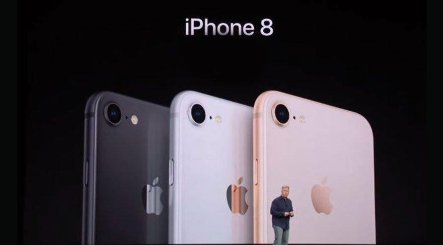 Son dakika haberi... iPhone 8 tanıtıldı. iPhone 8 ve iPhone 8 Plus özellikleri ve fiyatı...