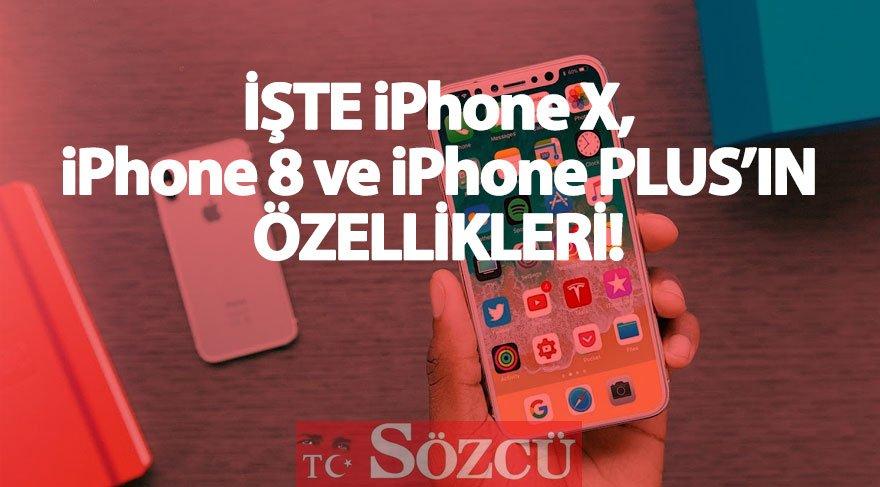 İşte iPhone X'in özellikleri