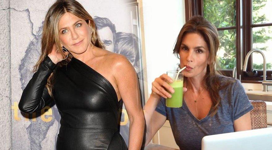 Cindy yeşil çay, Jennifer maka tozu…