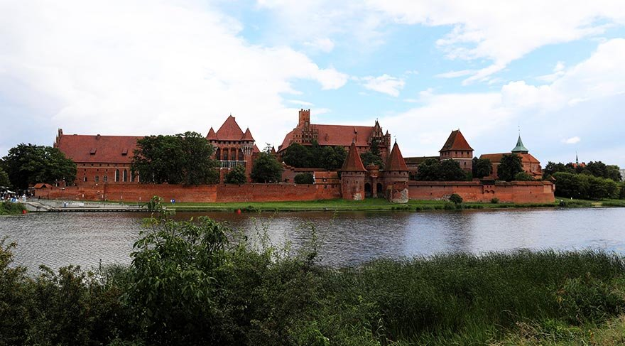Dünyanın en büyük kalesi: Malbork