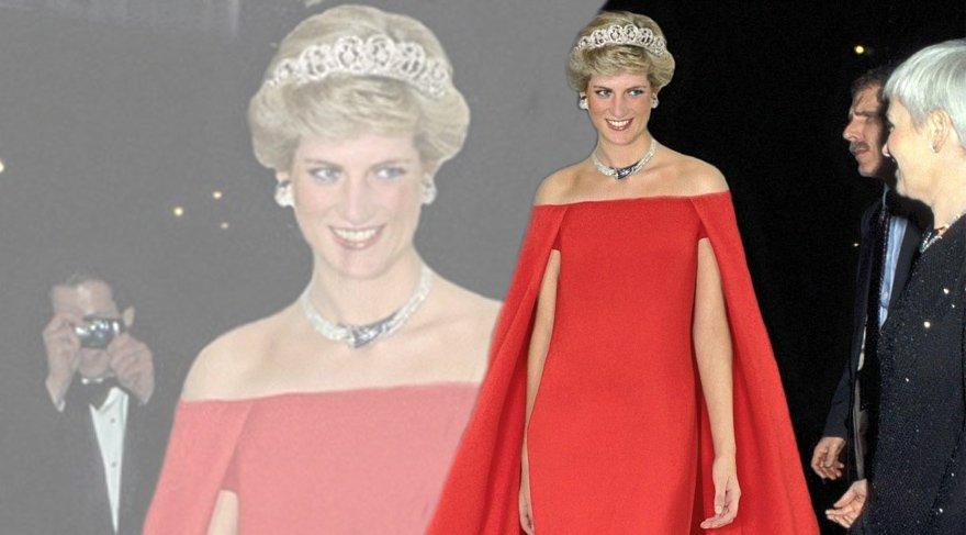 Lady Diana'nın timsah derisi çantası satışa çıkıyor