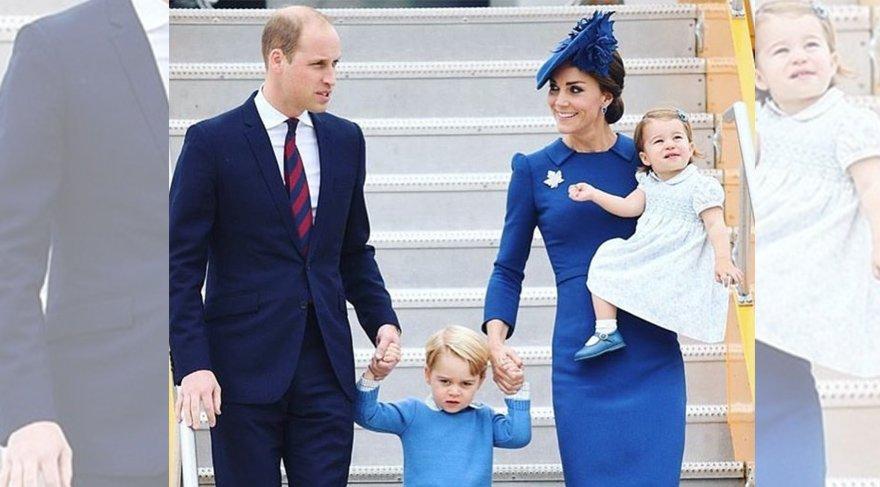 Kraliyet Ailesi'nin renk uyumu