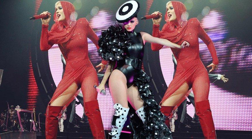 Katy Perry Witness: The Tour turnesine başladı