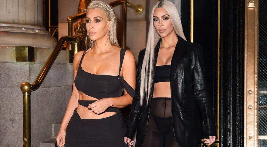 Kim Kardashian'ın seksi stili