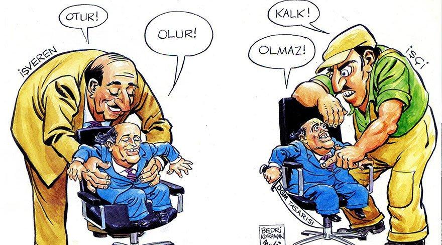 Siyasetin unutulmaz isimlerinin karikatürleri sergilenecek