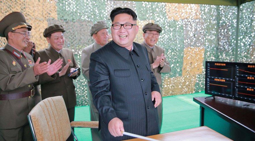 Kim Jong Un yılbaşı konuşmasında tehdit etti: Düğme masamda